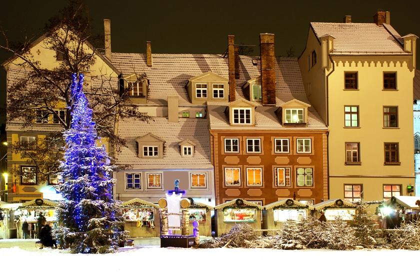 Marchés de Noël à Riga