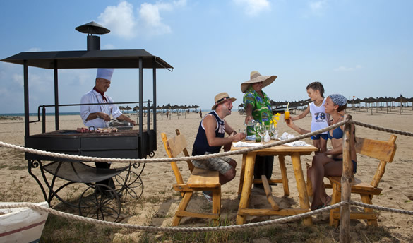royal hammamet barbecue plage8772